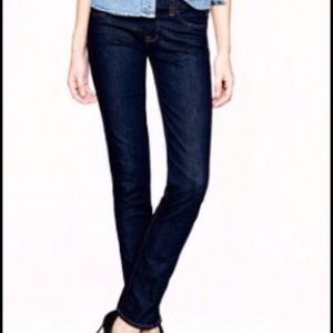 J. Crew Dark wash Skinny jeans, with stretch